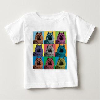 Chow Chow Pop-Art Baby T-Shirt