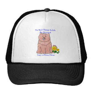 Chow Chow Red Best Things In Life Hat