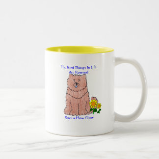 Chow Chow Red Best Things In Life Mug