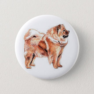 Chow Chow Red Button