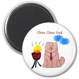 Chow Chow Red Dad Magnet