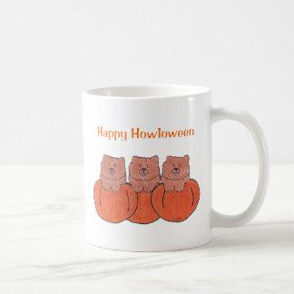 Chow Chow Red Happy Howloween Mug