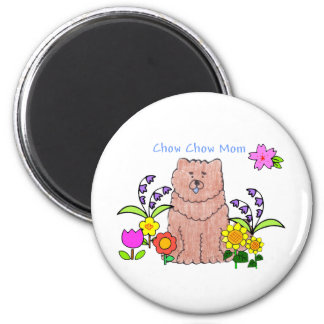 Chow Chow Red Mom Magnet
