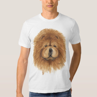 Chow chow   Red Shirt