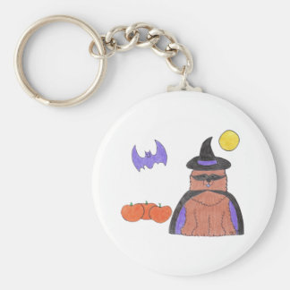 Chow Chow Red Witch Keychain