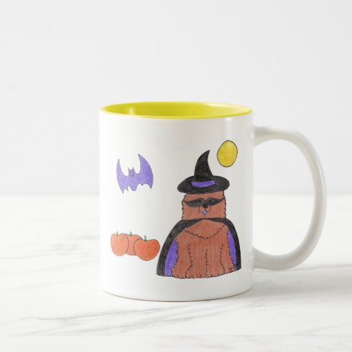Chow Chow Red Witch Mug