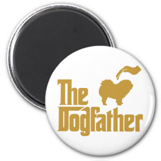 Chow Chow Rough-Coat 2 Inch Round Magnet