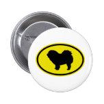 Chow Chow Rough-Coat Button