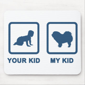 Chow Chow Rough-Coat Mouse Pads