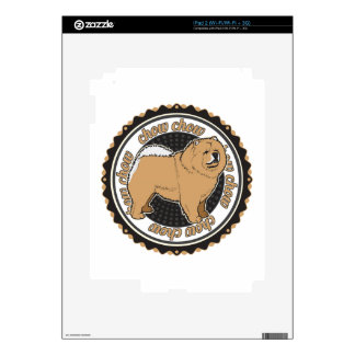 Chow Chow Decal For iPad 2