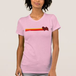Chow Chow With Stripes T-Shirt