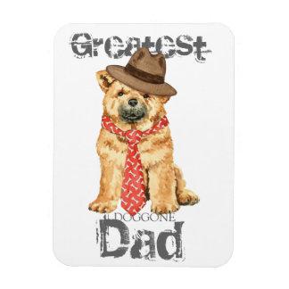 Chow Dad Rectangular Photo Magnet