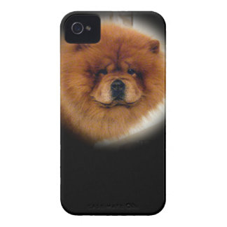 Chow Dog Design iPhone 4 Cover