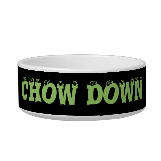 Chow Down Dog Bowl