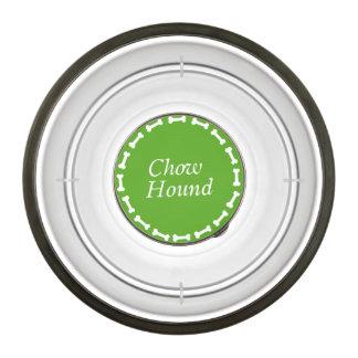 Chow Hound Dog Food Bowl Pet Bowl