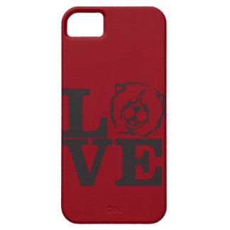 CHOW LOVE IPHONE CASE IN RED