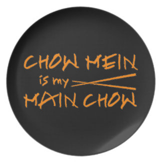 Chow Mein - Funny Decorative Plate - Foodie Gifts