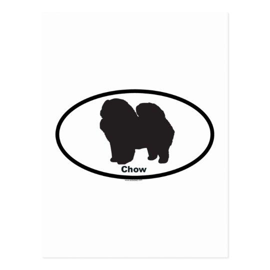 Chow Postcard