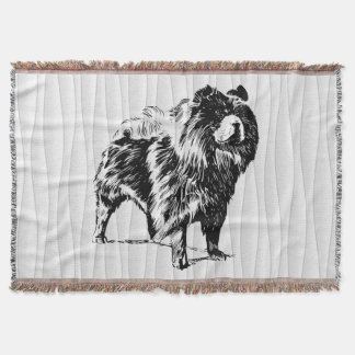 chow throw blanket