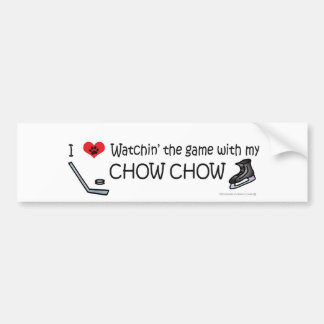 CHOWCHOW CAR BUMPER STICKER