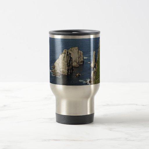 Chowiet seabird colonies 15 oz stainless steel travel mug
