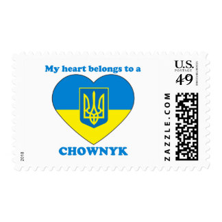 Chownyk Postage Stamp