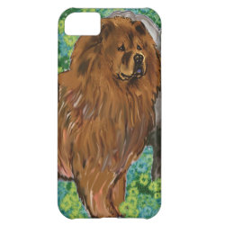 Case-Mate Barely There iPhone 5C Case with Chow Chow Phone Cases design