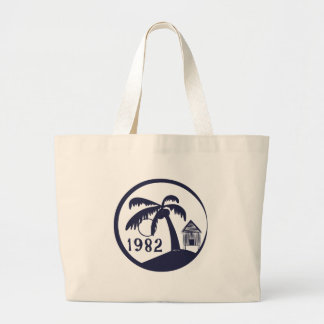 Choza de 1982 Hawaiian Bolsa Tela Grande