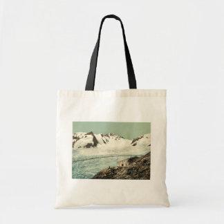 Choza de Concordia, Valais, montañas de, vintag de Bolsas