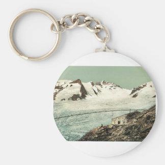 Choza de Concordia, Valais, montañas de, vintag de Llaveros