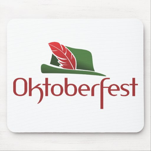 Choza de Oktoberfest Alfombrilla De Ratones