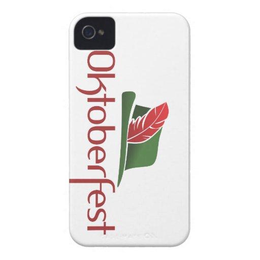 Choza de Oktoberfest Case-Mate iPhone 4 Funda