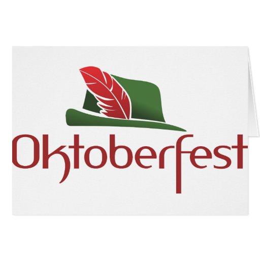 Choza de Oktoberfest Felicitaciones