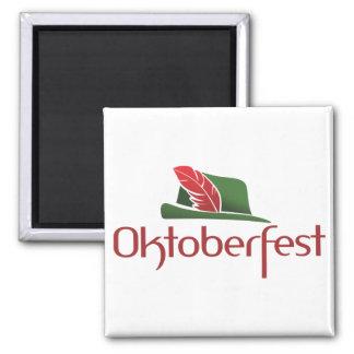 Choza de Oktoberfest Imanes Para Frigoríficos