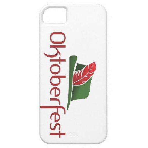 Choza de Oktoberfest iPhone 5 Case-Mate Carcasa