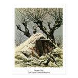 Choza Nevado de Caspar David Friedrich Postal