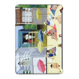 Chozas 1991 de la playa carcasa para iPad mini