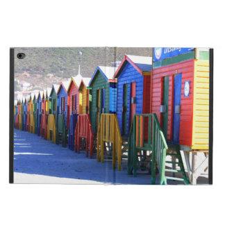 Chozas de la playa de Cape Town