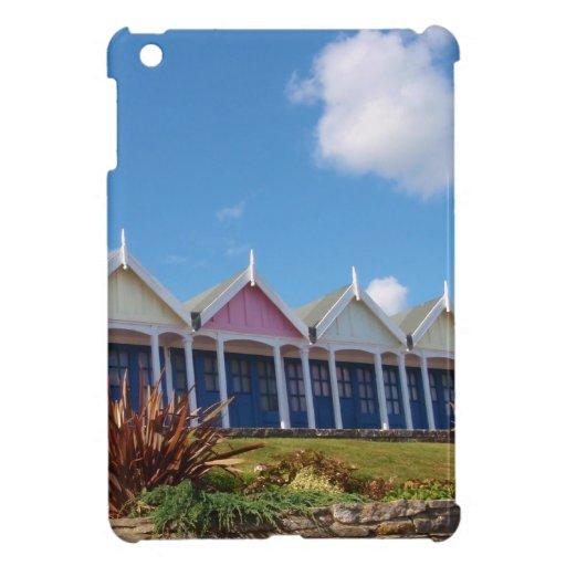 Chozas de la playa iPad mini protectores