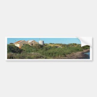 chozas por el mar pinta kenny etiqueta de parachoque