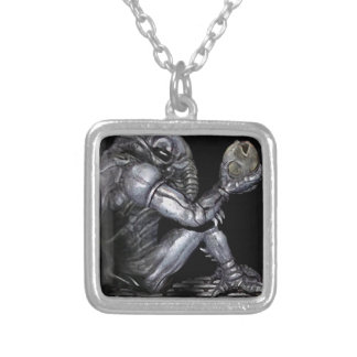 Chozo Engineer Silver Plated Necklace