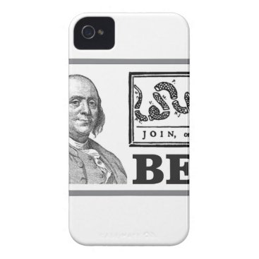 chpped snake ben iPhone 4 Case-Mate case