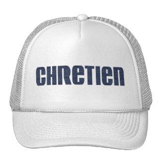Chrétien aspect jean's mesh hats