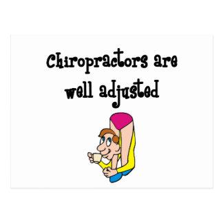 Chriopractor Postcard
