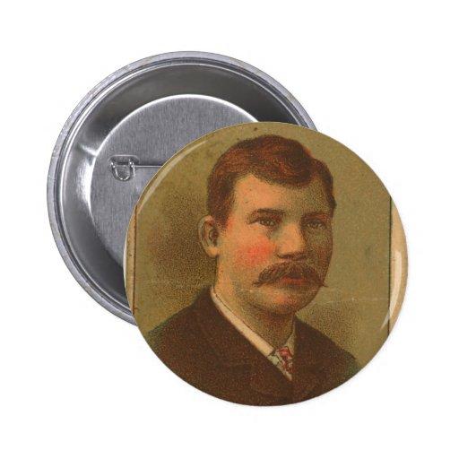 Chris 1887 Von Der Ahe Pin Redondo 5 Cm
