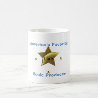 CHRIS: AMERICA'S FAVORITE MUSIC PRODUCER COFFEE MUGS