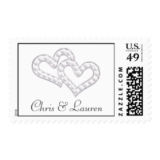 Chris and Lauren Postage Stamp
