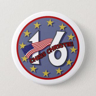 Chris Christie '16 Button