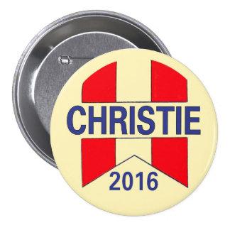 Chris Christie 2016 3 Inch Round Button