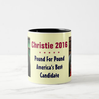 Chris Christie 2016 Coffee Mug